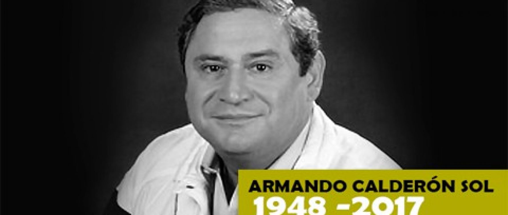 The IDC-CDI deeply regrets the death of the former president of Salvador, Armandocalderón
