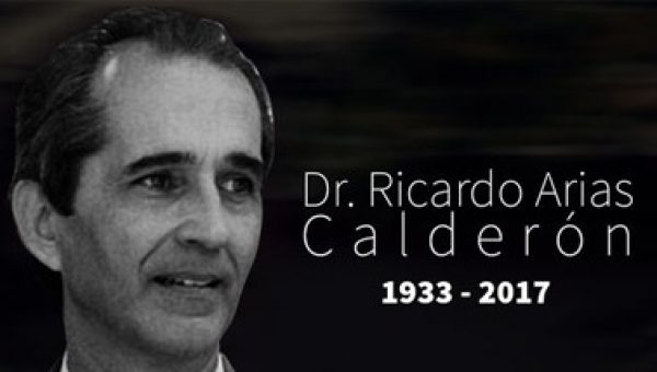 The IDC-CDI mourns the passing of former president Ricardo Arias Calderón