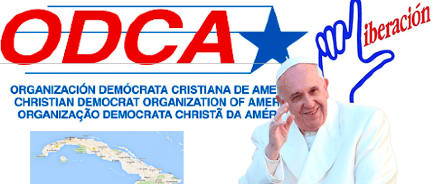 Solidarity with the Cuban dissidents prevented form participating in the Papal visit